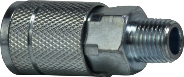 3/8 Steel Male Coupler-28519S