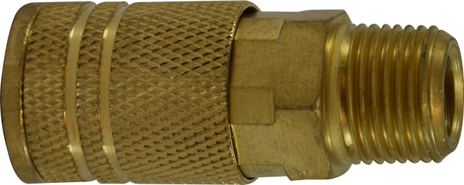 Male Pipe Coupler-Brass-28553