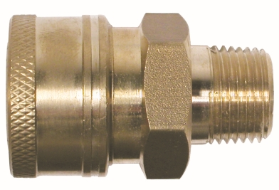 Male Brass Coupler-86030